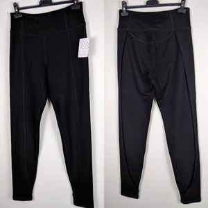 FREE PEOPLE BLACK Jogging pants